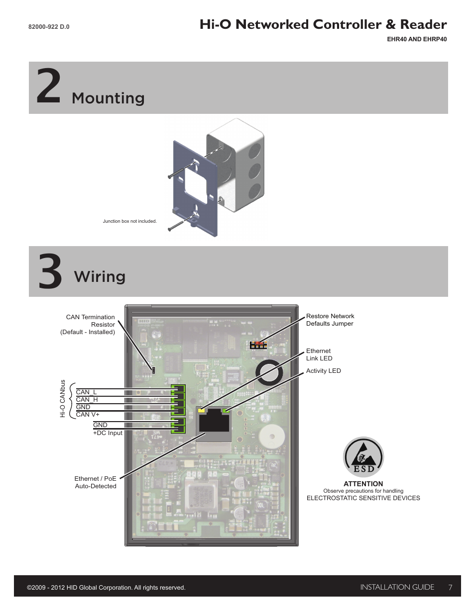 hid edge evo ehr40 ehrp40 reader controller installation guide page7 hid edge evo wiring diagram edge evo edwm m \u2022 wiring diagrams j H13 HID Relay Wiring Diagram at n-0.co