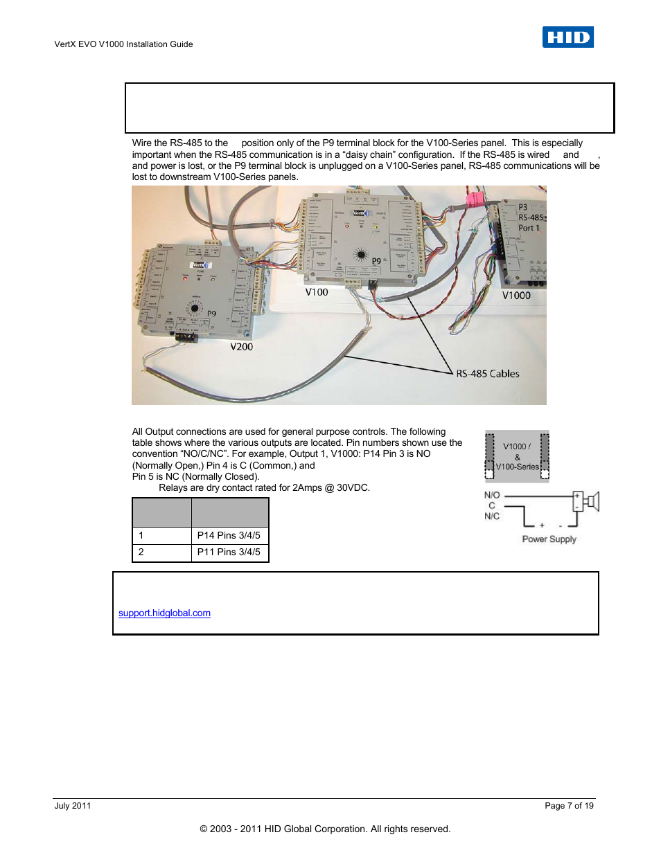 Hid V1000 Wiring Diagram Free Download Aperio Vertx Evo Installation Guide User Manual Page 7 19 Headlight Circuit At