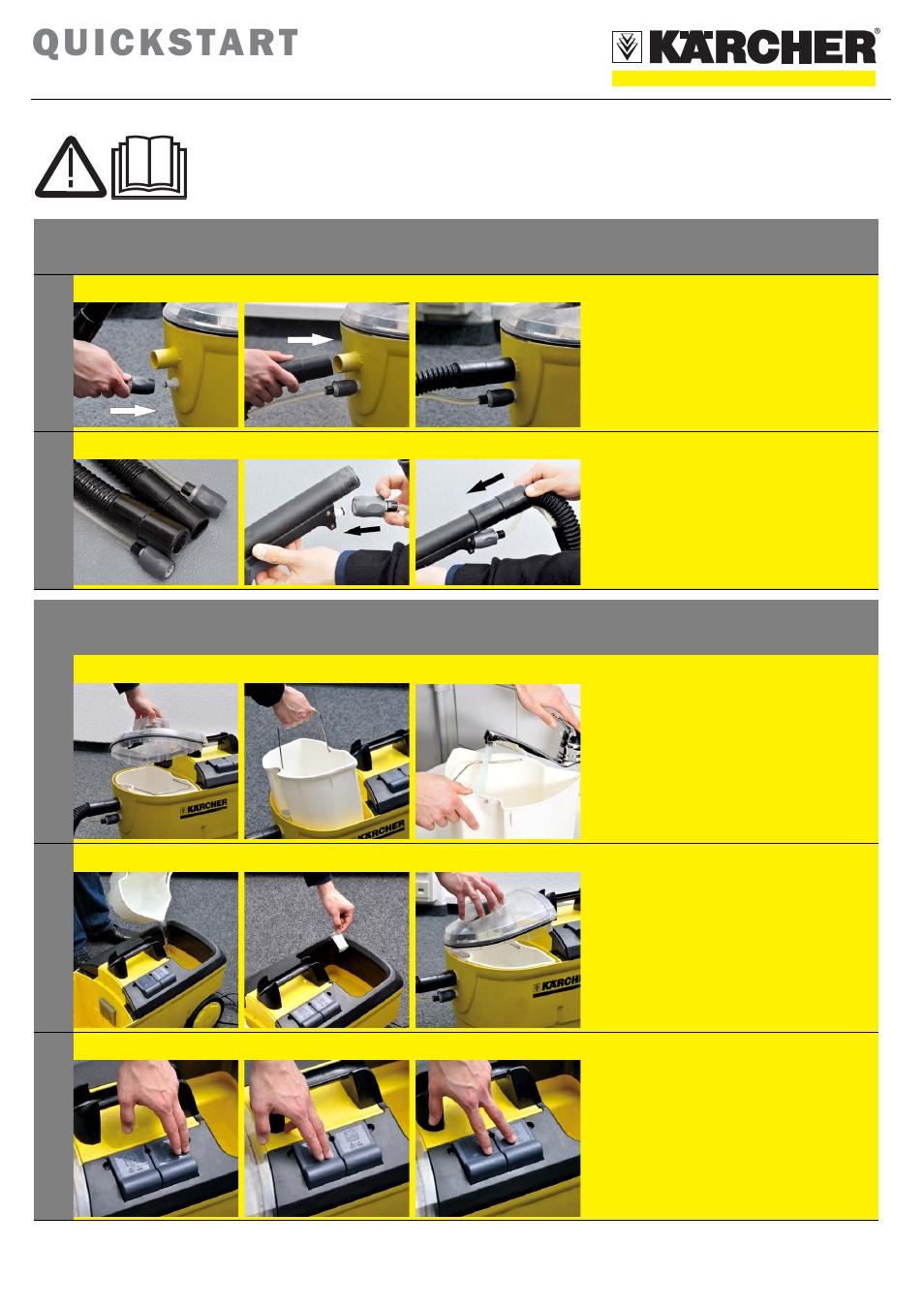 karcher window cleaner instruction manual
