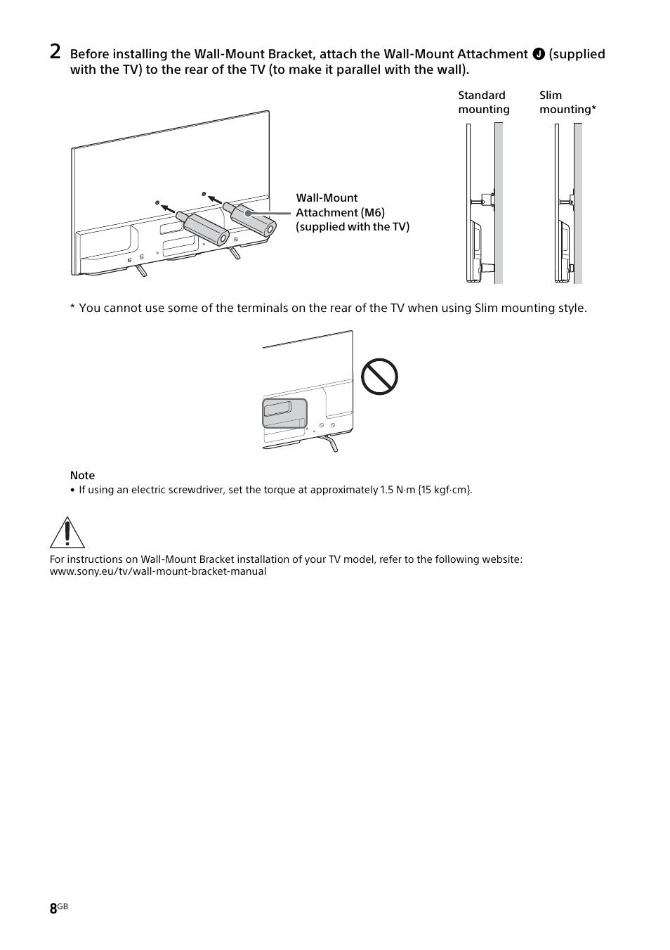 Sony Kdl 55w829b User Manual Page 8 256 Also For Kdl 55w805b
