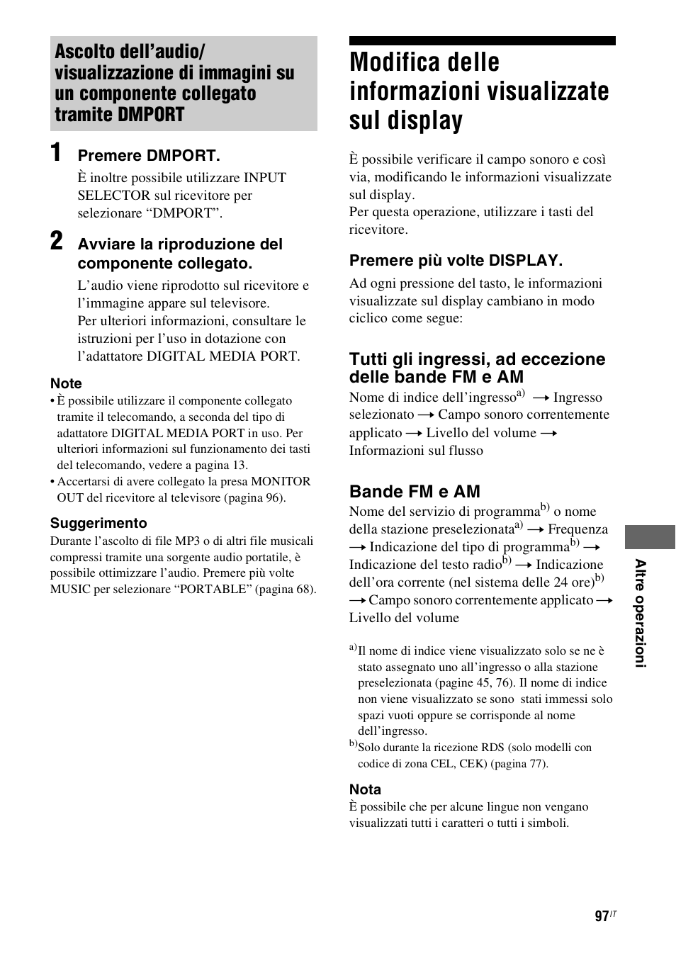 Download free pdf for sony str-dh800 receiver manual.
