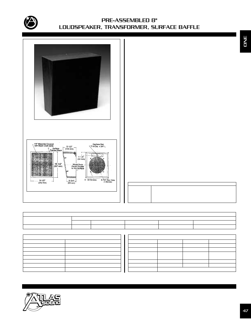 atlas sound loudspeaker wd417 72 user manual 2 pages rh manualsdir com atlas  sound sd72wv wiring diagram