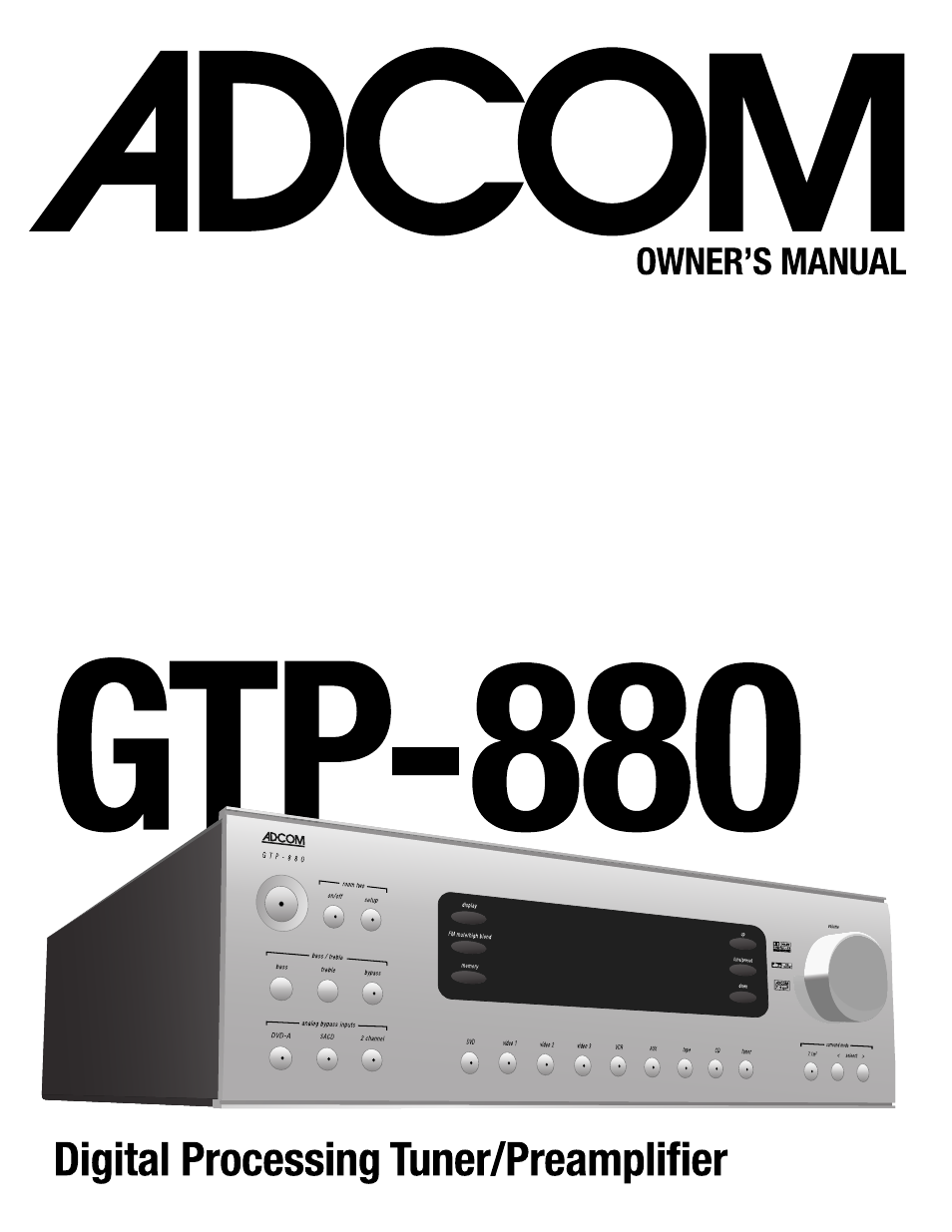 adcom gtp 880 manual free owners manual u2022 rh wordworksbysea com