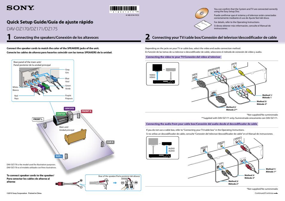 sony dav dz170 user manual 2 pages original mode also for dav rh manualsdir com sony dvd home theater system dav-dz175 manual sony dav-dz 175 replacement remote