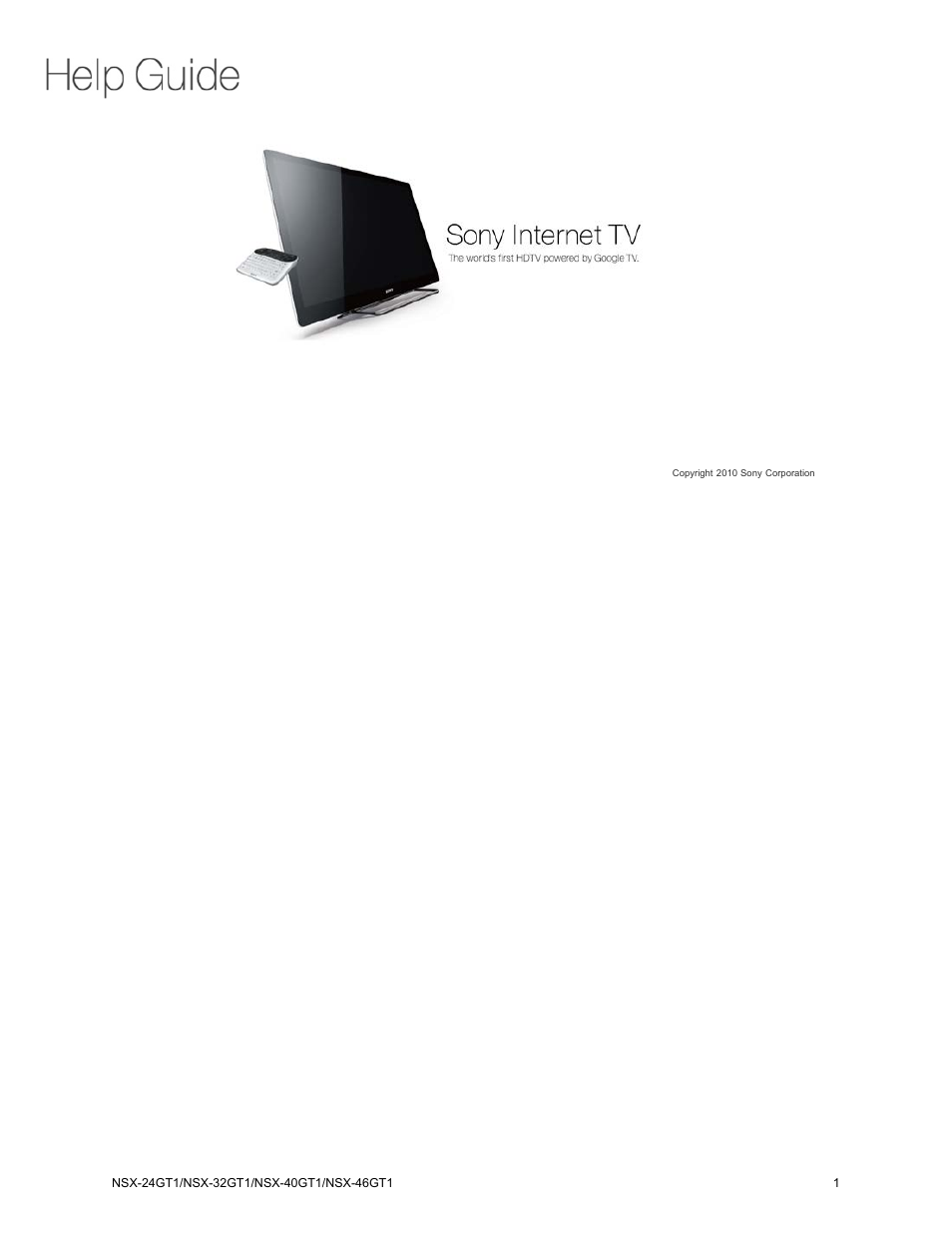 sony nsx 32gt1 user manual 103 pages also for nsx 40gt1 nsx rh manualsdir com NSX-40GT1 Back of TV NSX-40GT1 Remote