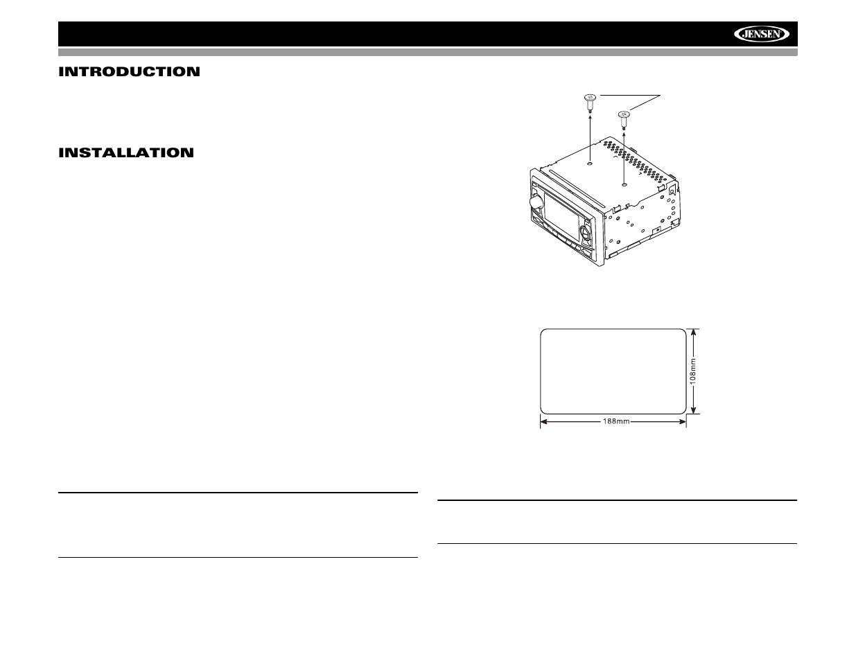 Audiovox Jensen Vm8022 User Manual Page 5 24 Car Cd Player Wiring Diagram