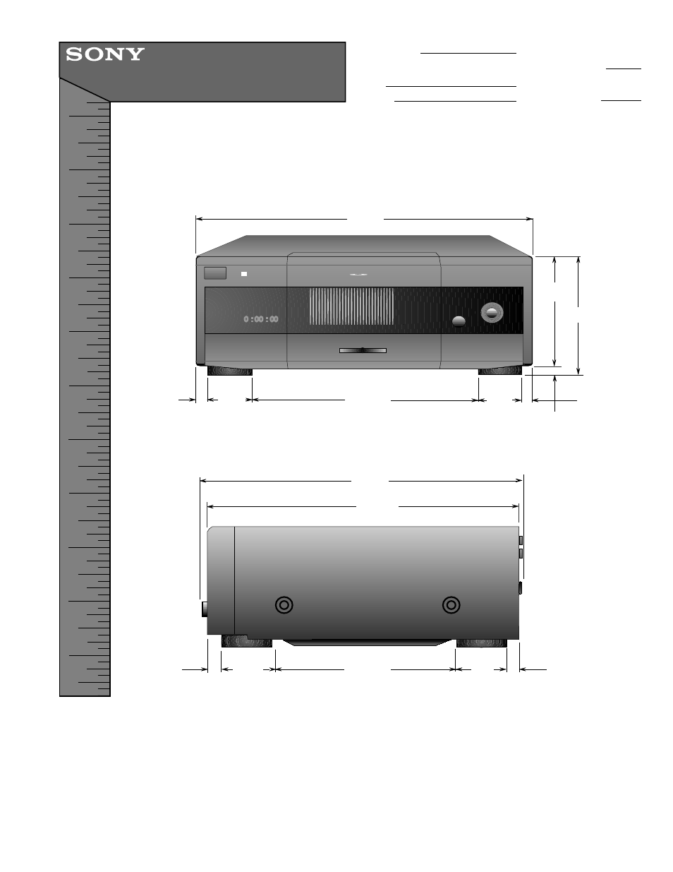 Sony DVP-CX860 User Manual | 1 page
