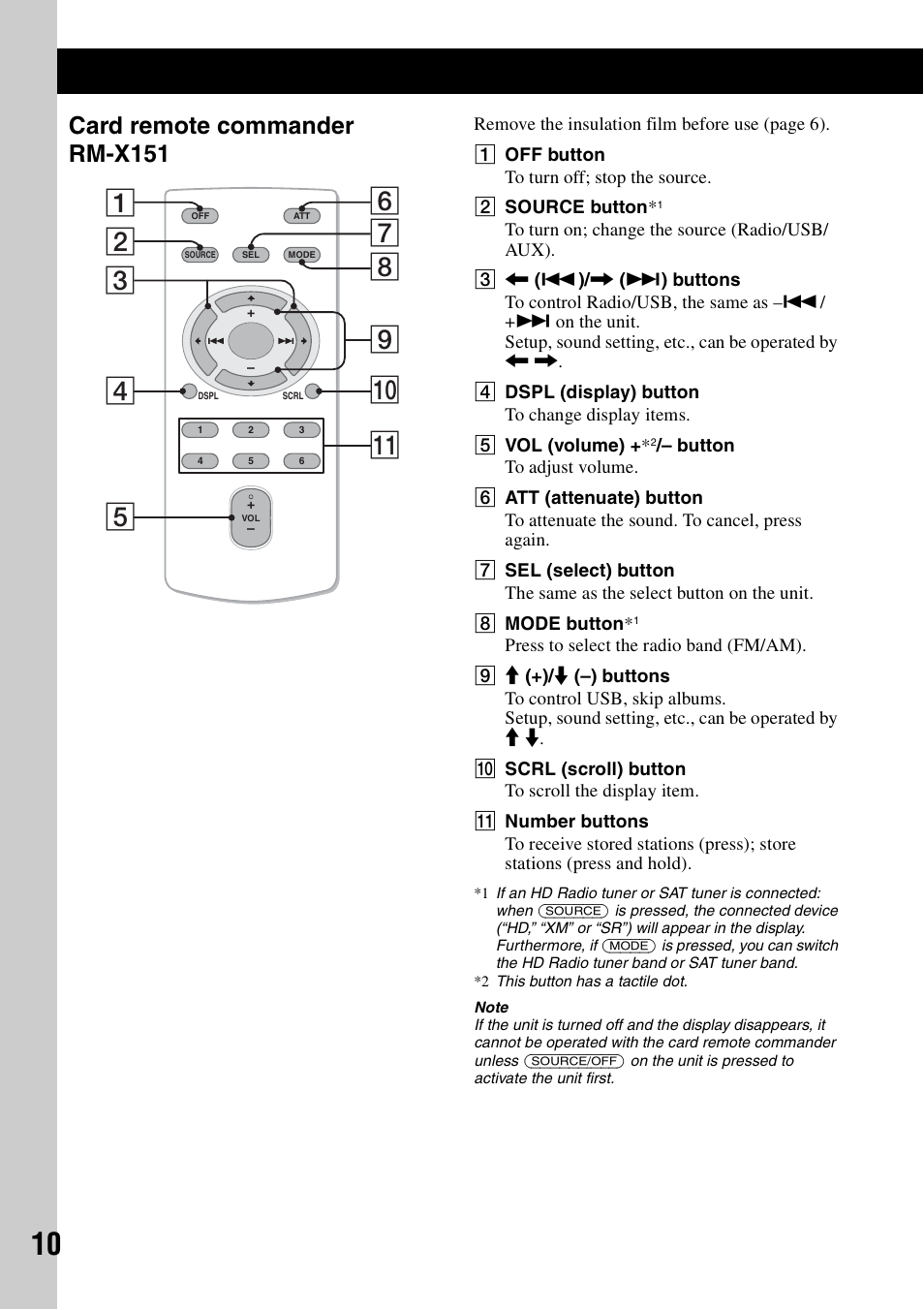 card remote commander rm x151 sony dsx s100 user manual page 10 sony dsx s200x wiring-diagram card remote commander rm x151 sony dsx s100 user manual page 10