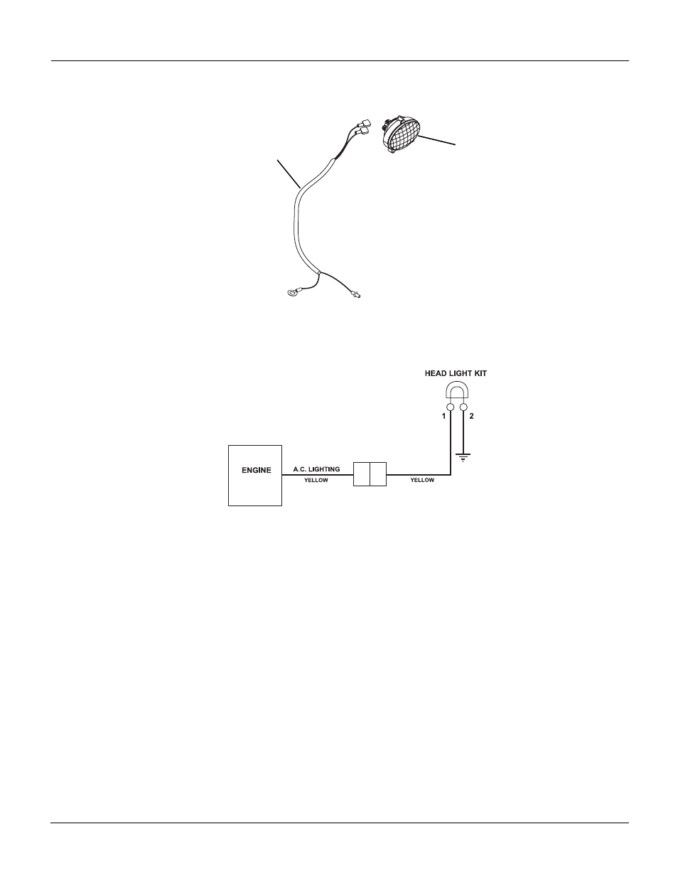 Electrical and wiring diagram, Lectrical, Iring | Ariens Sno-Thro 926300 -  11526DLE User Manual | Page 36 / 37