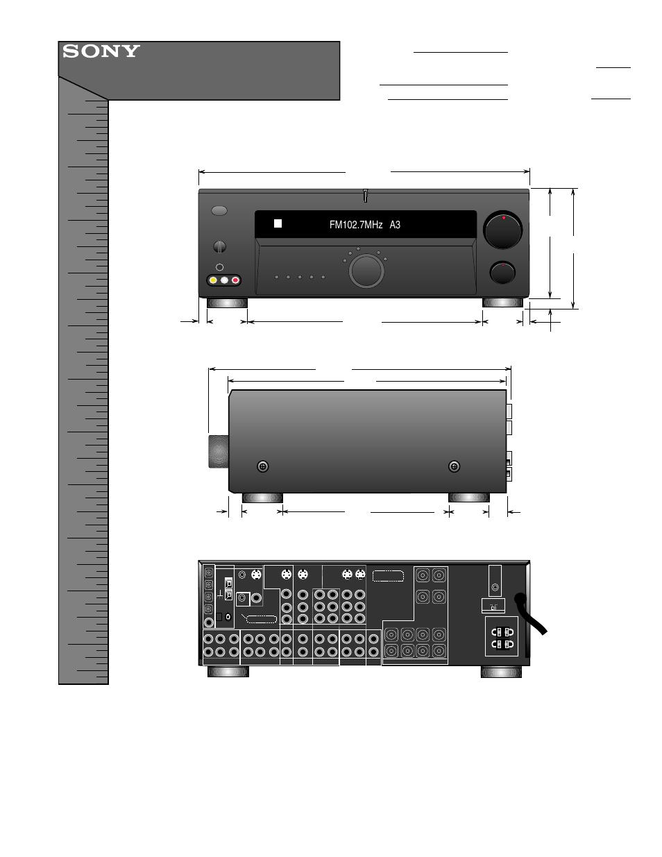 sony str de675 user manual 1 page also for str de575 rh manualsdir com Sony STR De675 Manual Sony STR- DE595