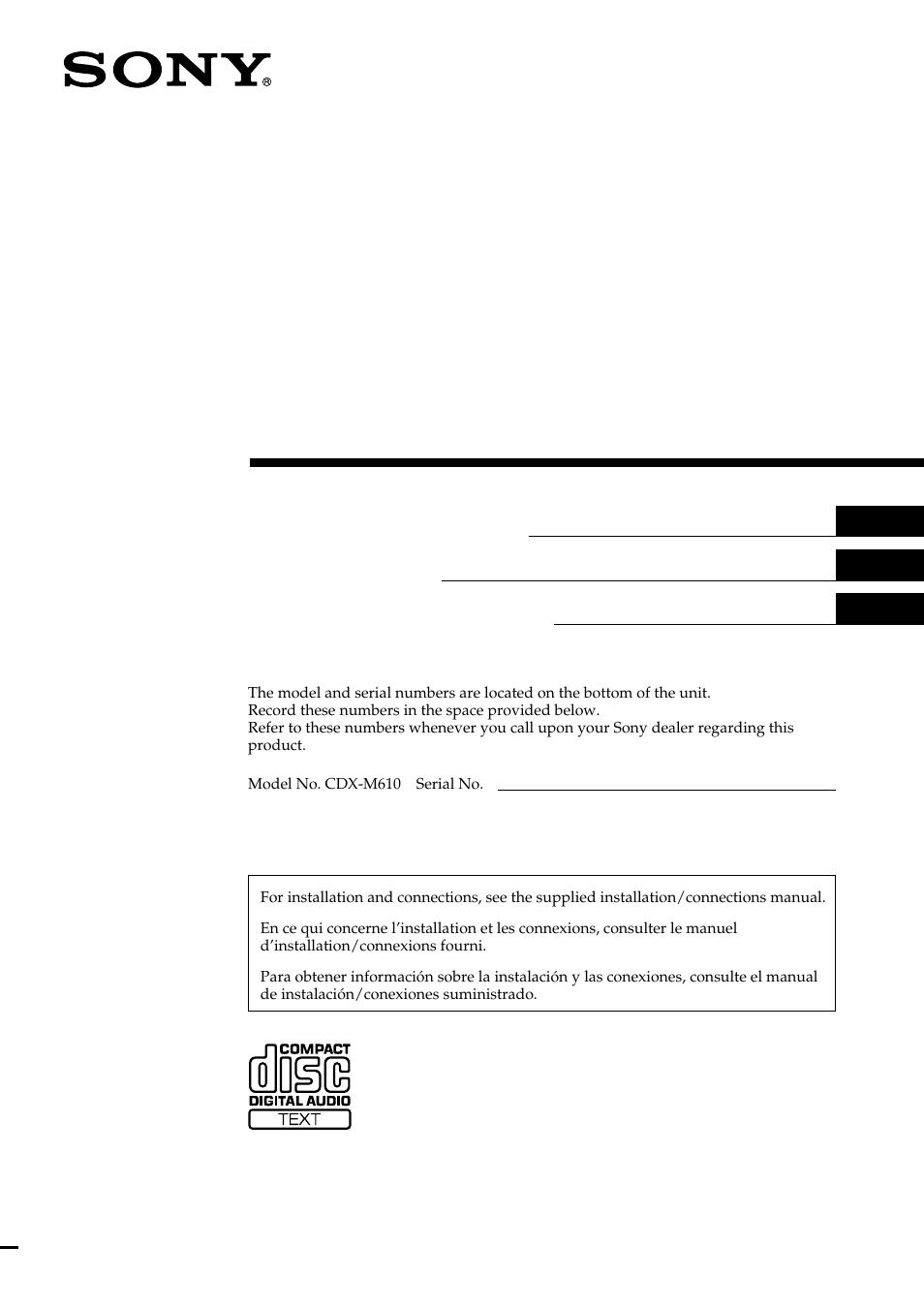 sony cdx 610 wiring diagram wiring diagramsony cdx m610 user manual 100 pagessony cdx 610 wiring diagram 20