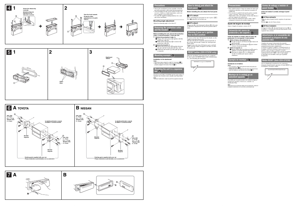 sony cdx gt32w wiring diagram toyota  nissan sony cdx gt22w user manual page 2 2  toyota  nissan sony cdx gt22w user