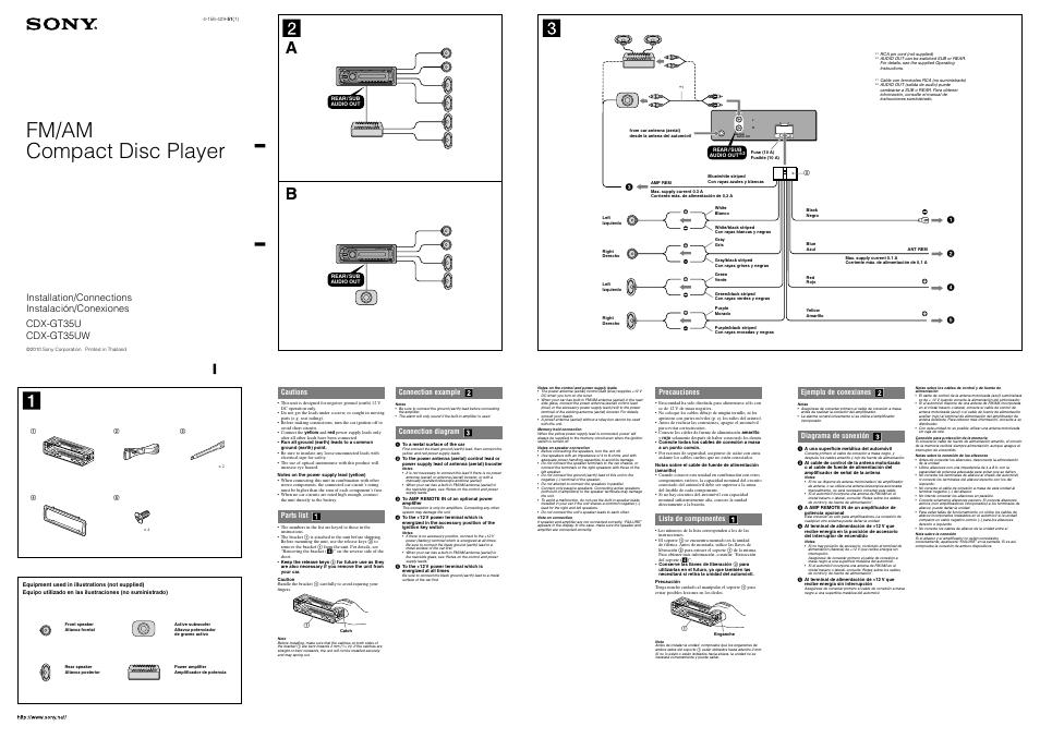 sony cd player wiring diagram sony cdx gt35uw wire diagram wiring diagram data  sony cdx gt35uw wire diagram wiring