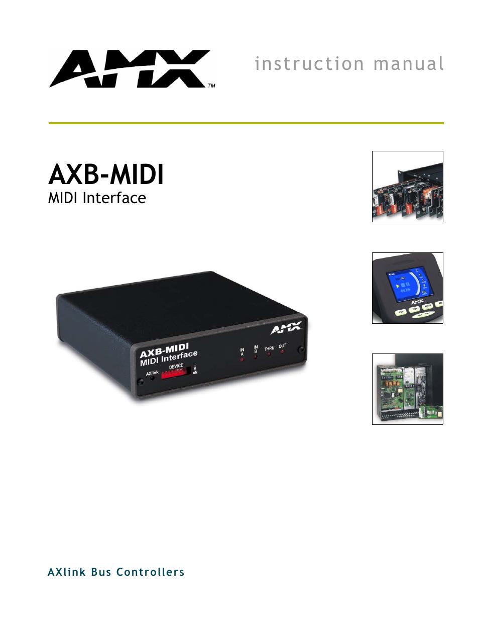Musical Instruments & Gear Amx Axb-midi Interface Other Dj Equipment