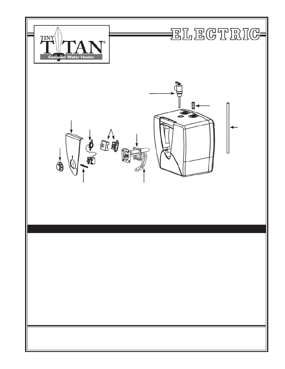 American water heater tiny titan e25 user manual 1 page ccuart Images