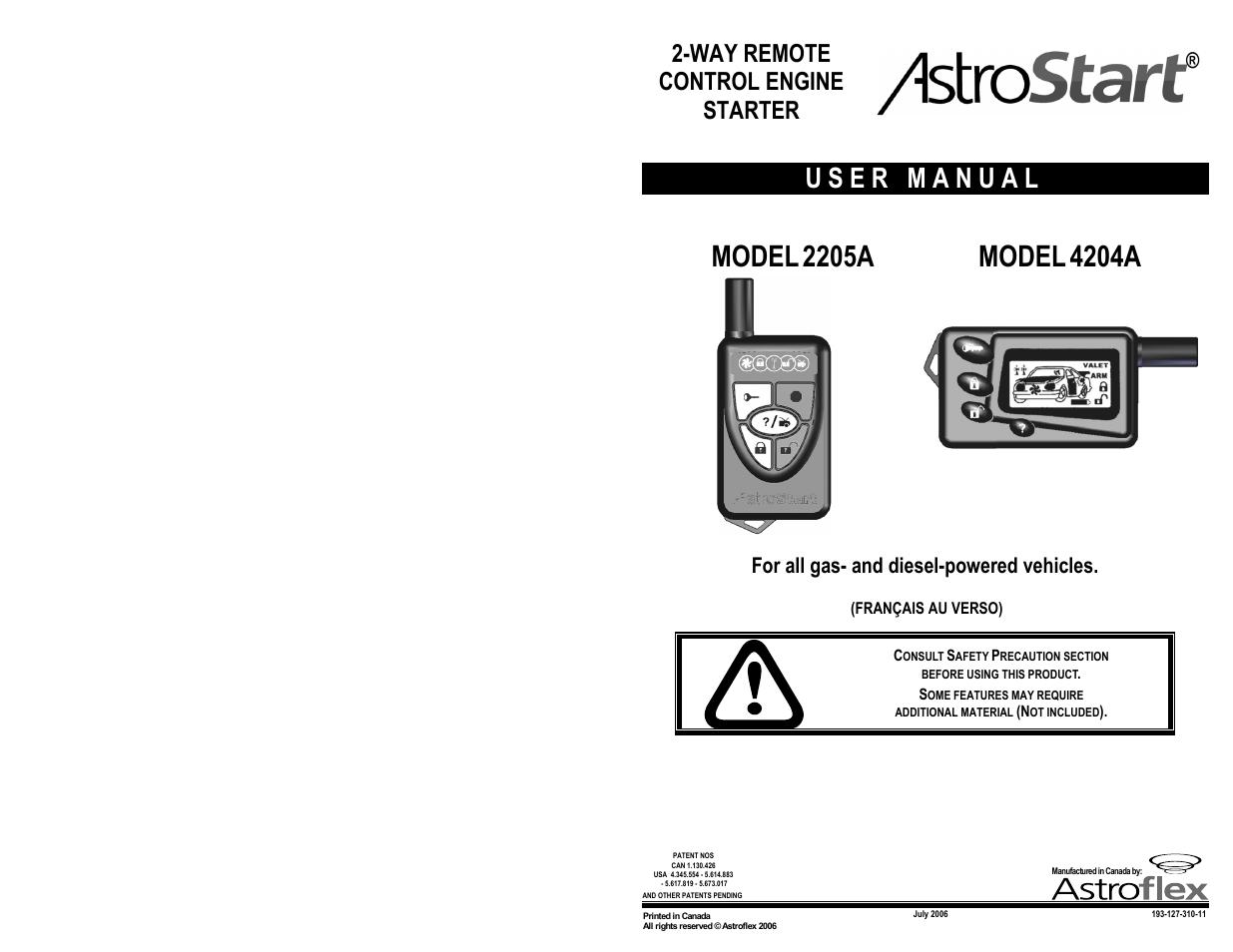 Astrostart 4204