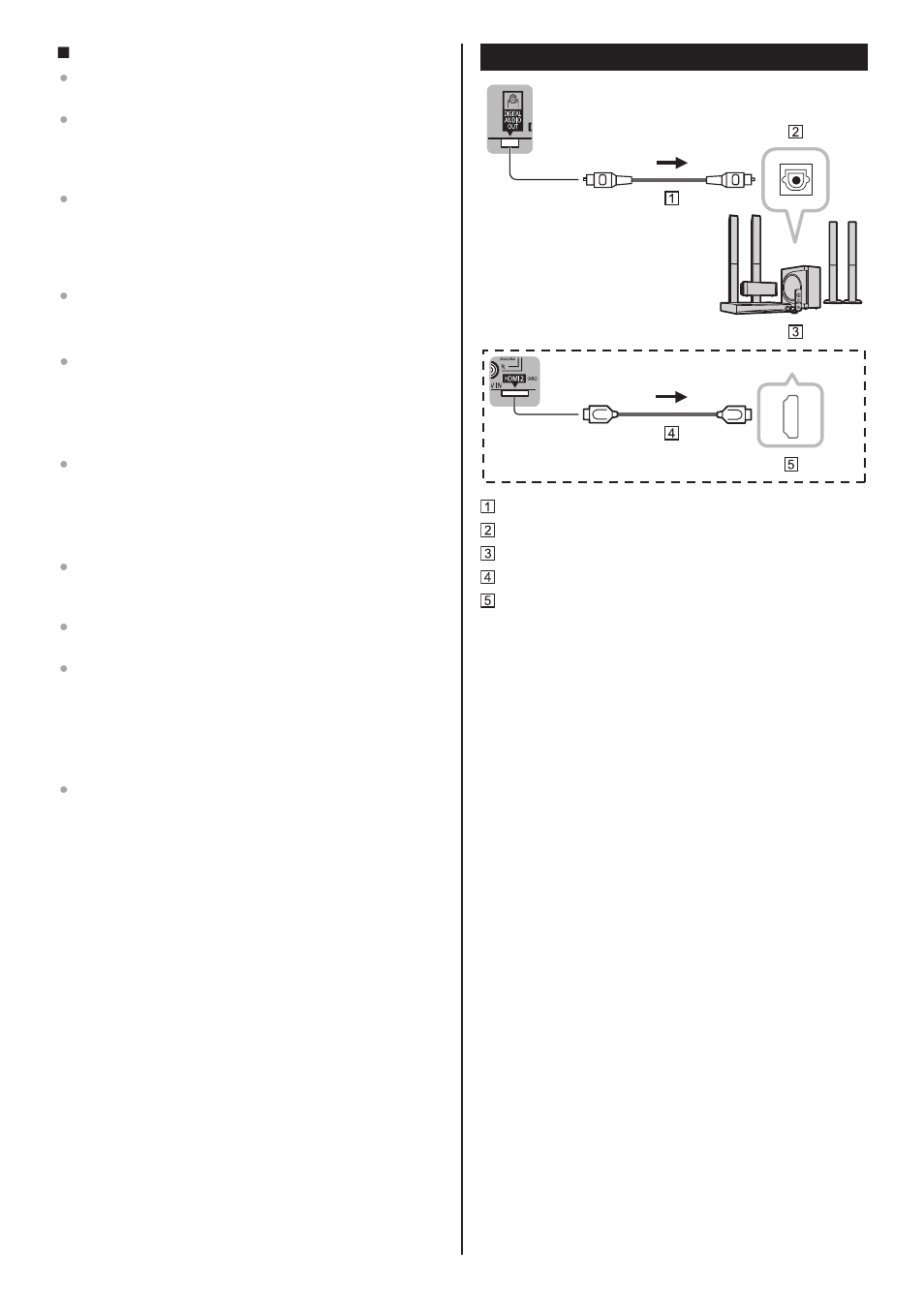 Audio Connection Panasonic Tc 55as680u User Manual Page 13 28