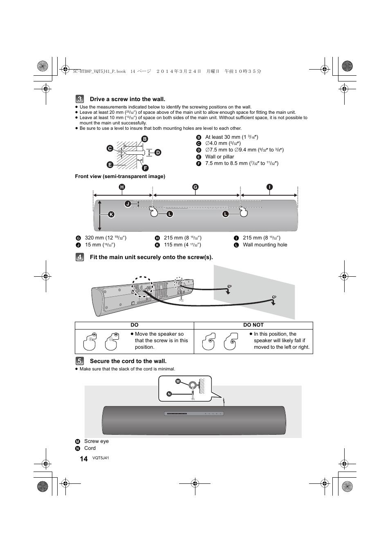 Panasonic SC-HTB8 User Manual | Page 14 / 24 | Original mode