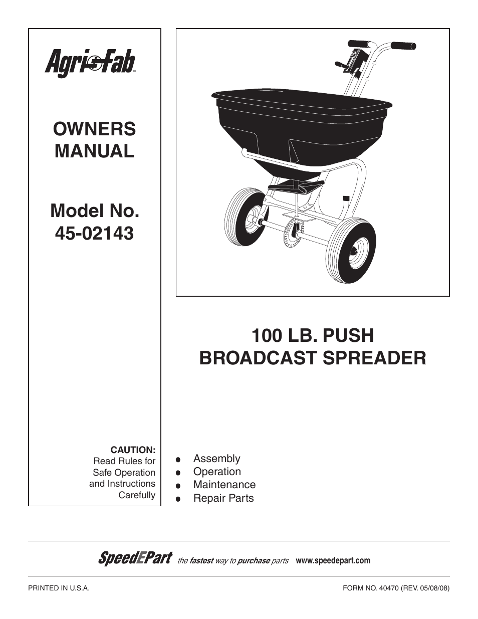 agri fab 45 02143 user manual 12 pages rh manualsdir com agri fab spreader 175 manual agri-fab broadcast spreader 125 manual