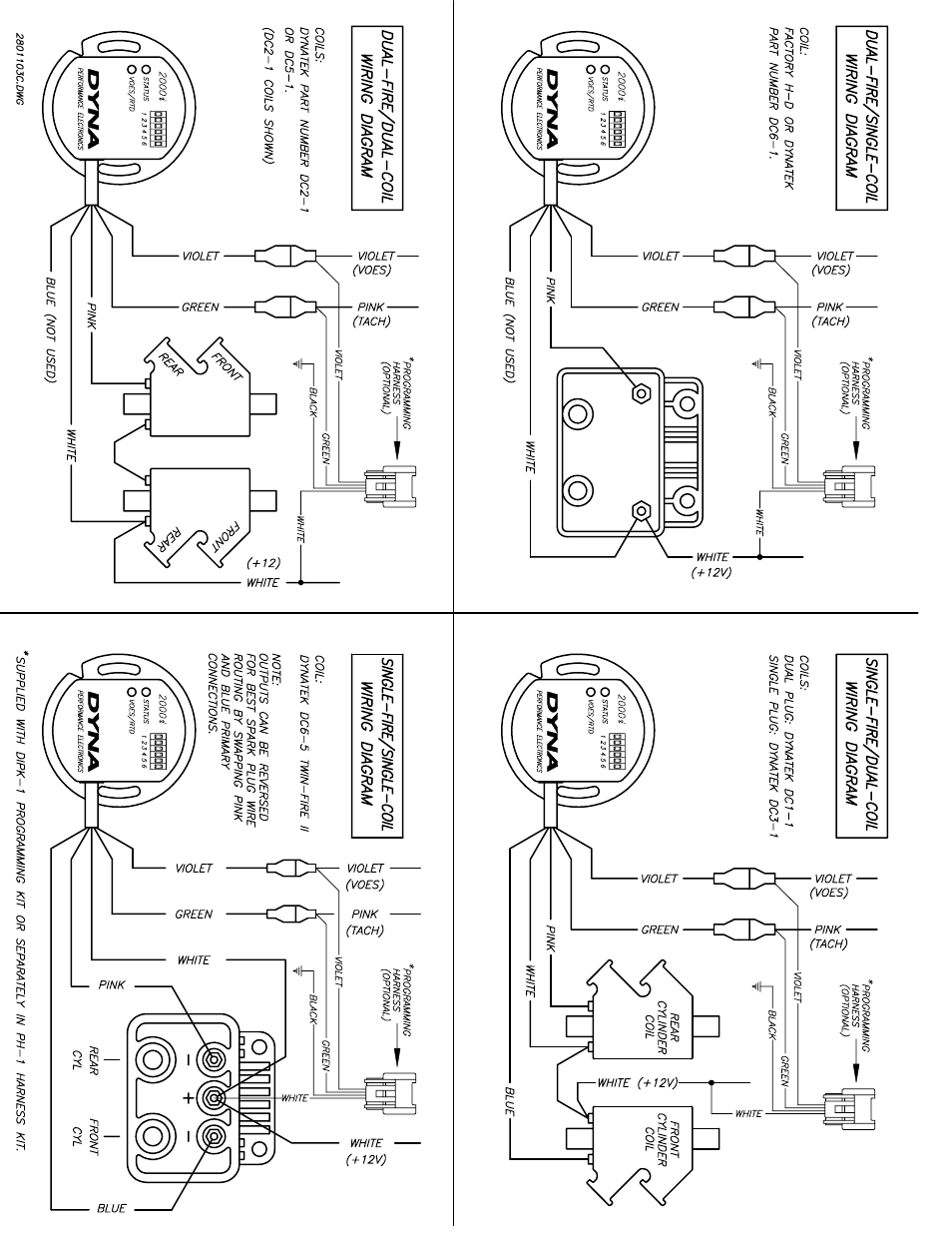 harley dyna s wiring diagram dynatek dyna 2000i programmable user manual | page 5 / 6 #7