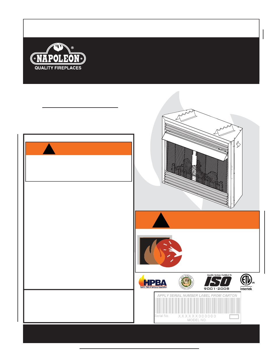 Napoleon fireplaces gvf36 user manual 28 pages cheapraybanclubmaster Image collections