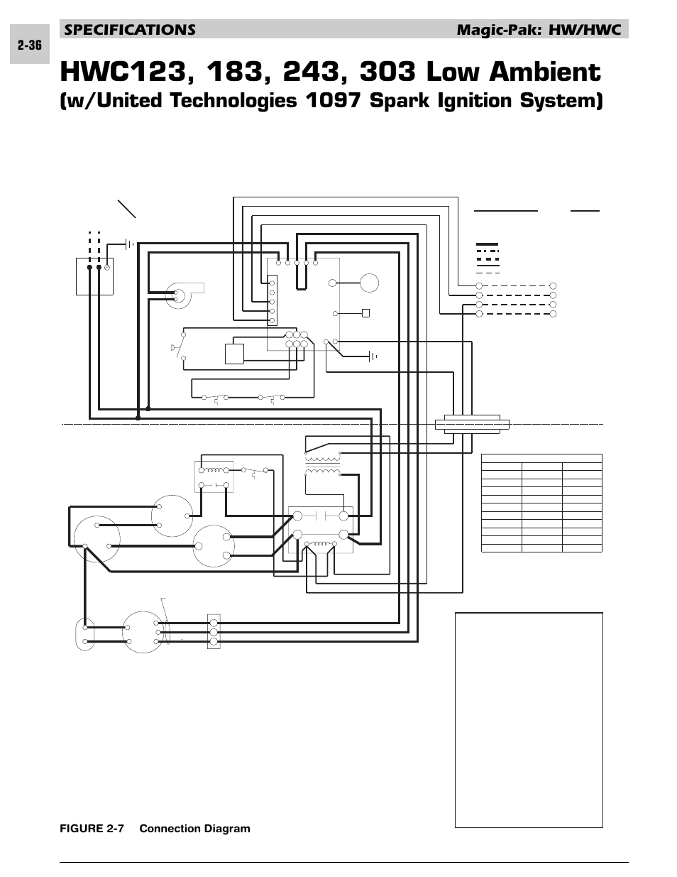 w  united technologies 1097 spark ignition system   specifications magic hwc  figure 2
