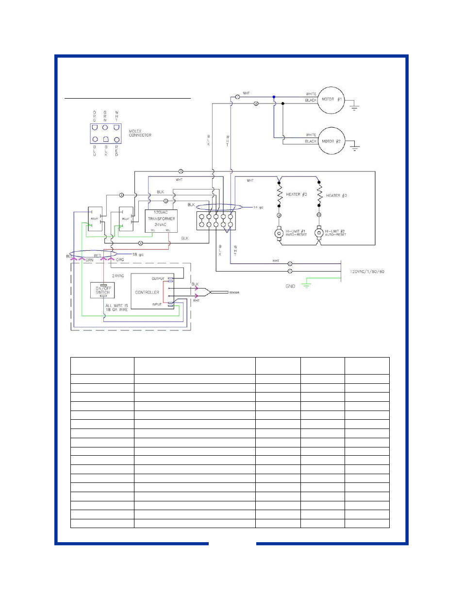 Wiring Diagram Replacement Parts Pitco Frialator Pcf18 User 24vac Manual Page 8 10