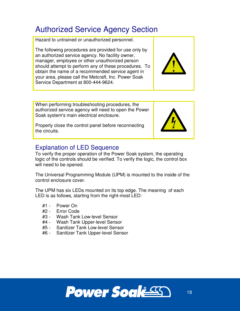Explanation of led sequence power soak 27746 ps 200 owners manual explanation of led sequence power soak 27746 ps 200 owners manual user manual page 22 28 publicscrutiny Choice Image