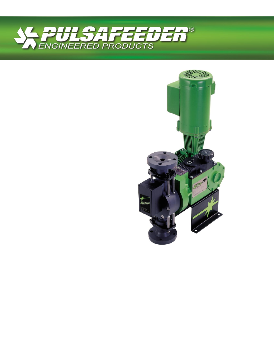 Pulsafeeder Pulsar Series HypoPump User Manual | 15 pages