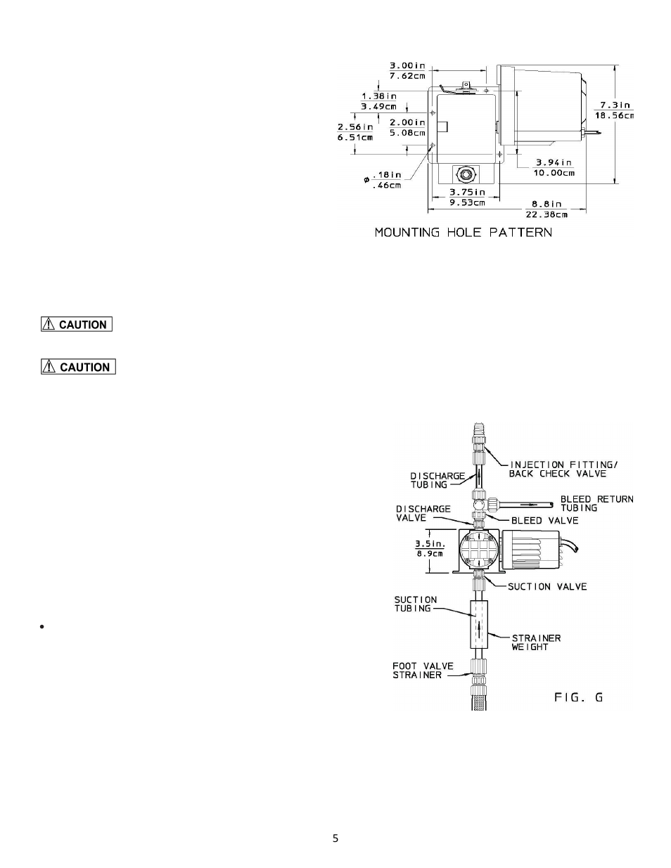 Pulsafeeder Chem-Tech Series 100-150 User Manual   Page 5