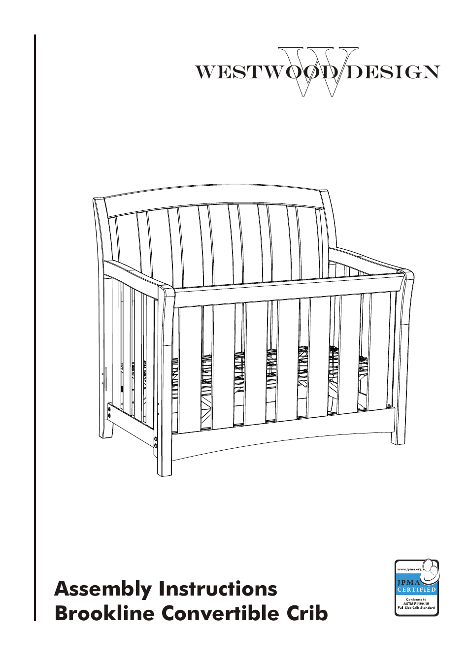 by white a waverly certified tuscana guard rail in convertible babyf crib design westwood virginia cribs jonesport com manufacturer cherry jpma with discontinued amazon