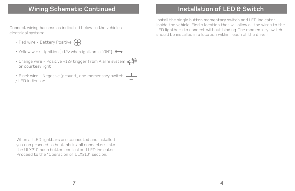 installation of led switch wiring schematic continued varad rh manualsdir com