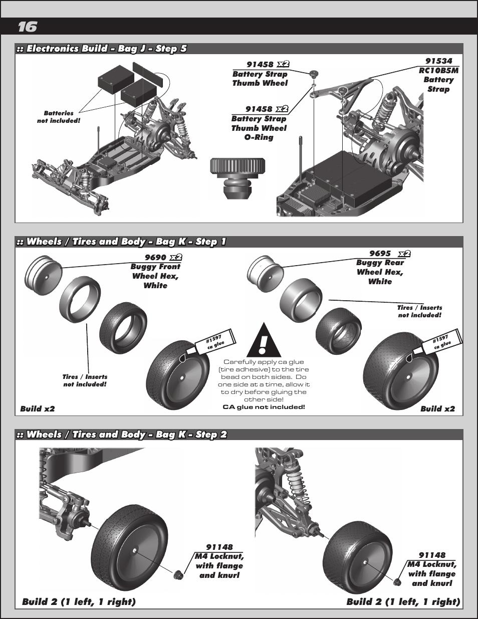 Team Associated RC10B5M User Manual | Page 16 / 34