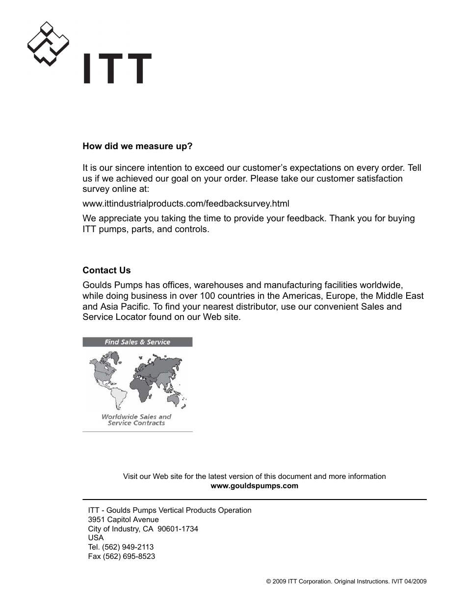 Itt user manual user guide manual that easy to read goulds pumps vit iom user manual page 78 78 original mode rh manualsdir com manuals in pdf instruction manual book fandeluxe Gallery