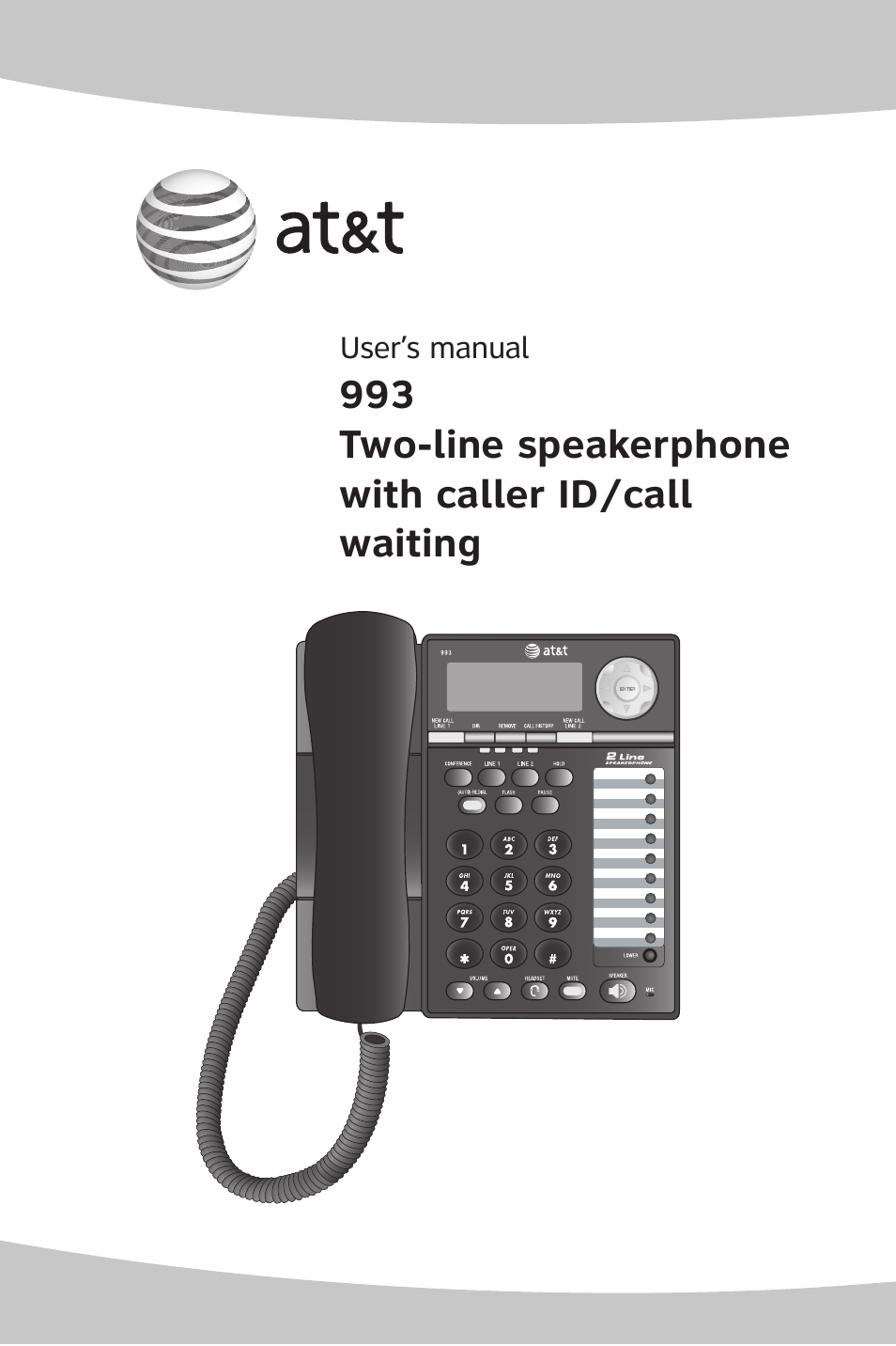 at t att 993 user manual 79 pages rh manualsdir com AT&T Phone Model 993 AT&T Phone Model 993