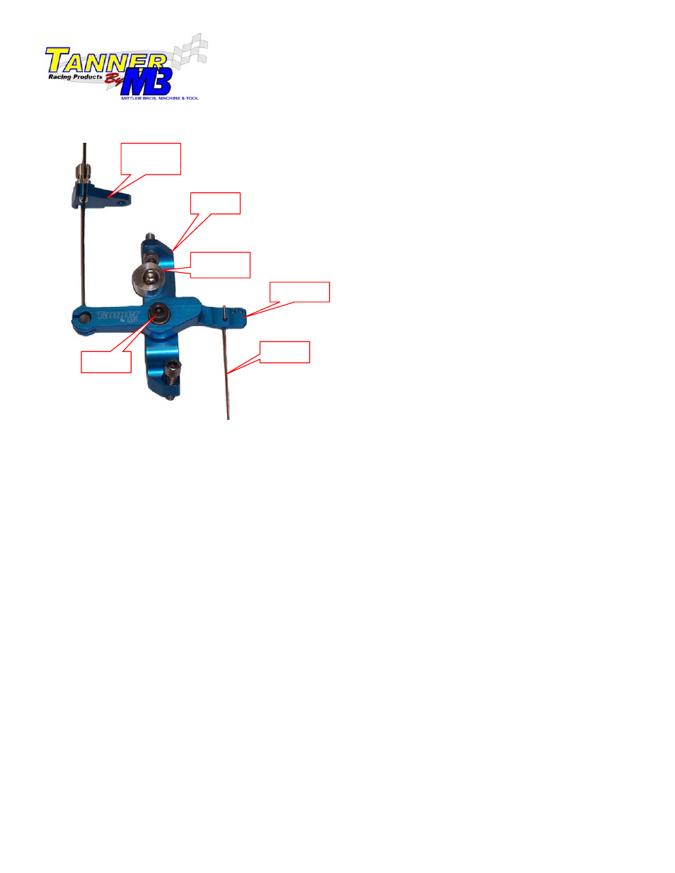 Mittler Bros Machine & Tool 75010 Honda Throttle Linkage Kit User Manual |  1 page