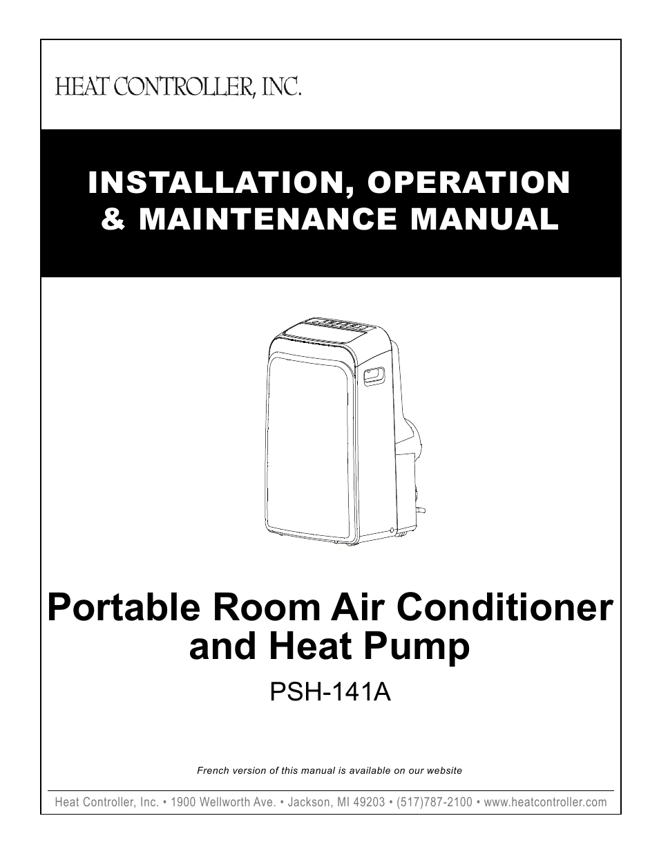 Comfort-Aire PSH-141A User Manual | 16 pages