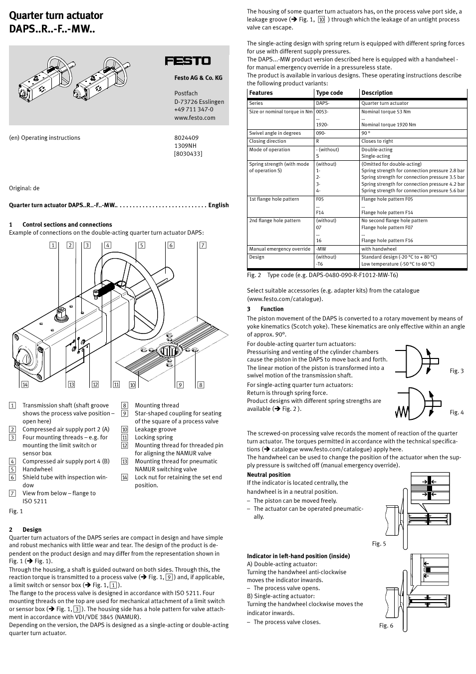 Festo Limit Switch Wiring Diagram Electrical Pri Sypar Daps User Manual 5 Pages Honeywell Control