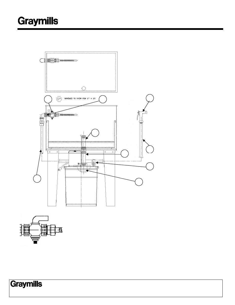Graymills FLO-BAC Assymbly User Manual | 2 pages