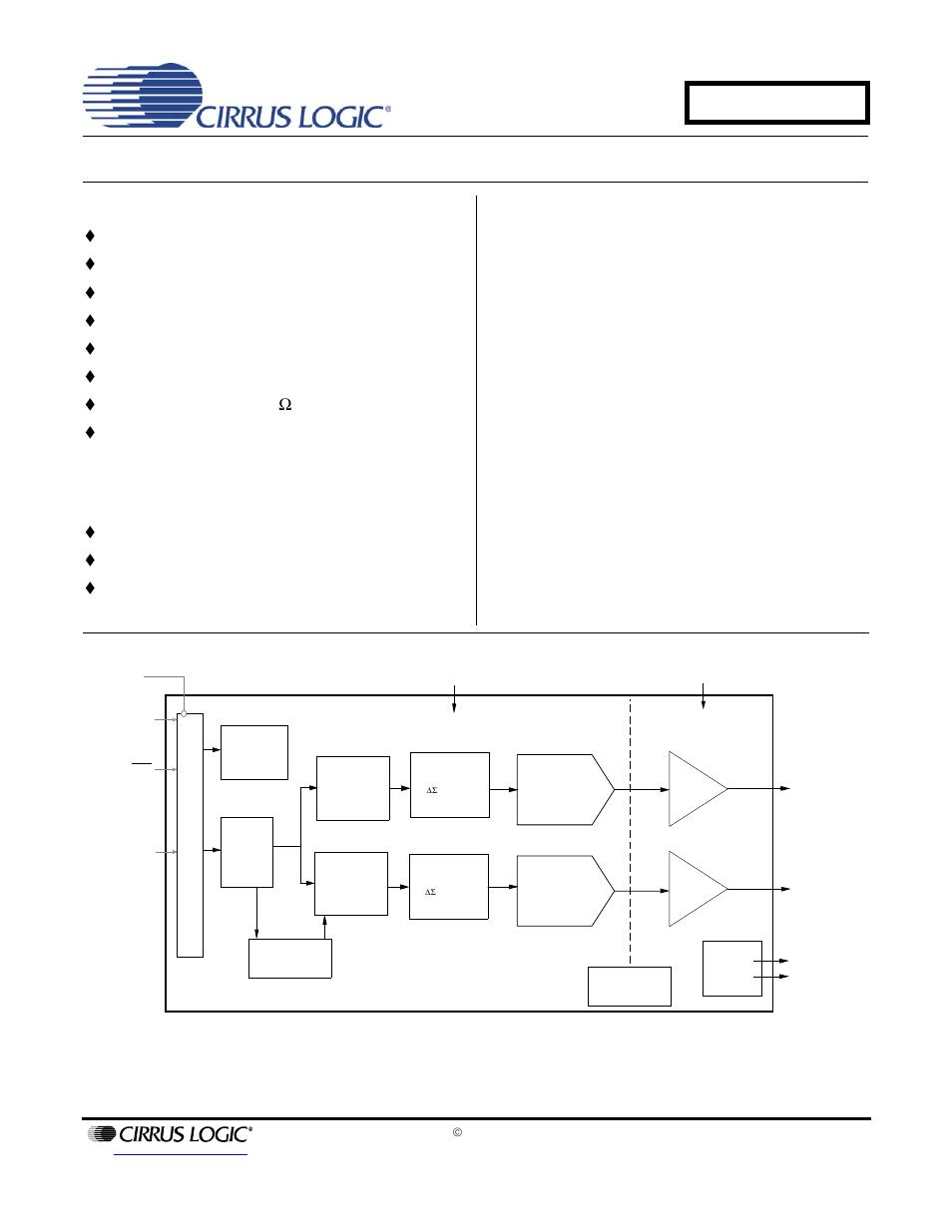 Cirrus Logic Cs4351 User Manual 37 Pages 2 Level Diagram