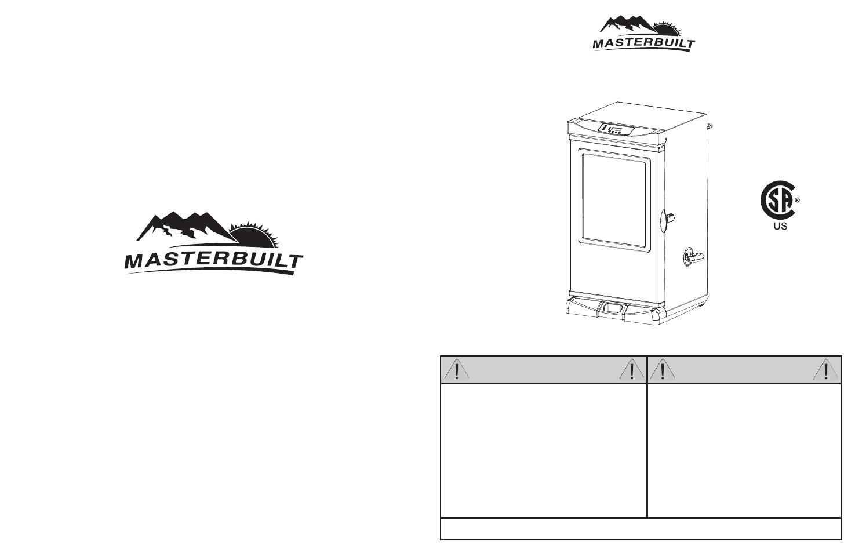 masterbuilt 30 inch electric digital smokehouse 20070312 user rh manualsdir com Whirlpool Quiet Partner 1 Manual Whirlpool Dishwasher Manual
