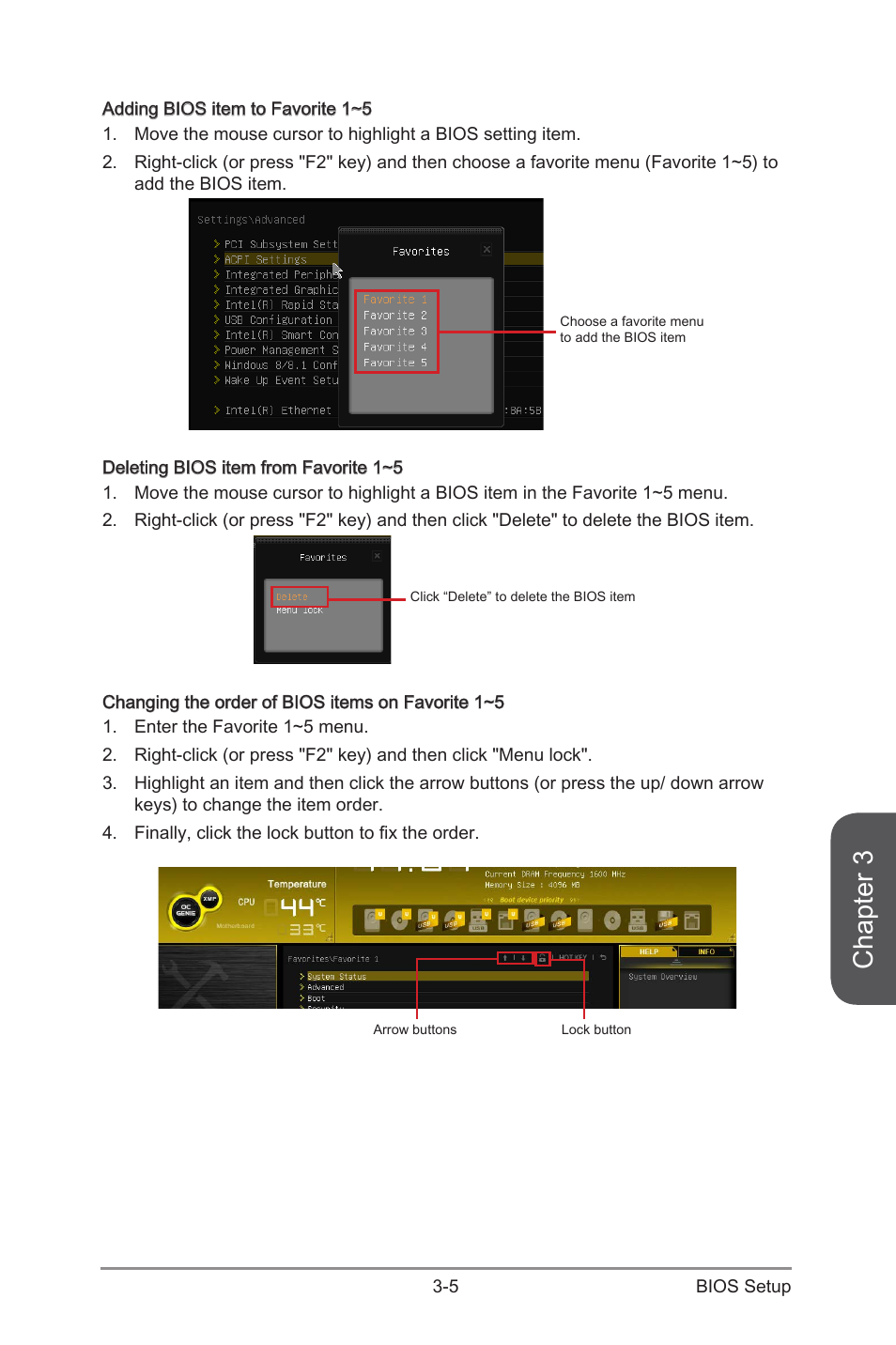 Chapter 3 | MSI Z97 MPOWER Manual User Manual | Page 69 / 116
