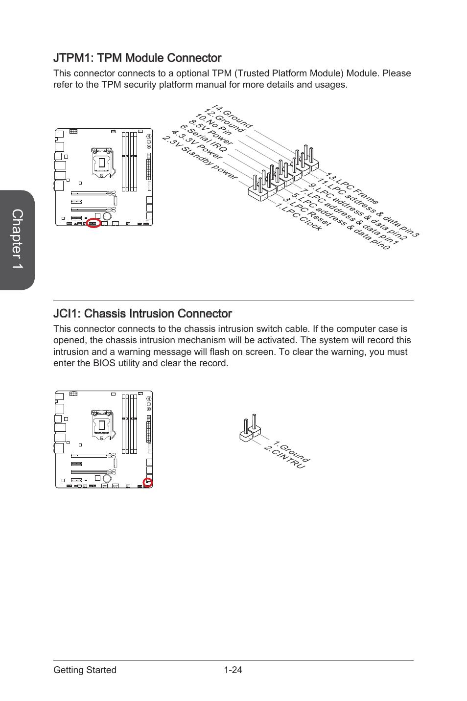 jci1 chassis intrusion connector jtpm1 msi z97m gaming user rh manualsdir com Owner S Manual Craftsman 917 Craftsman LT 2000 Manual PDF