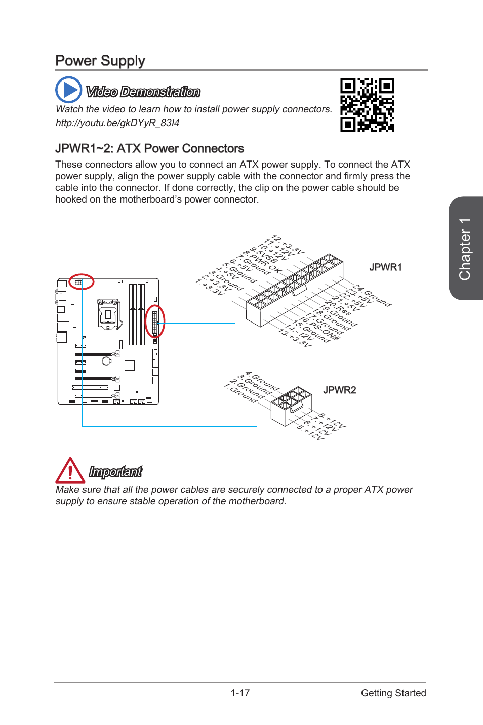 Atx Main Power Supply Pin Connector Schematic Jpwr12 Connectors 17