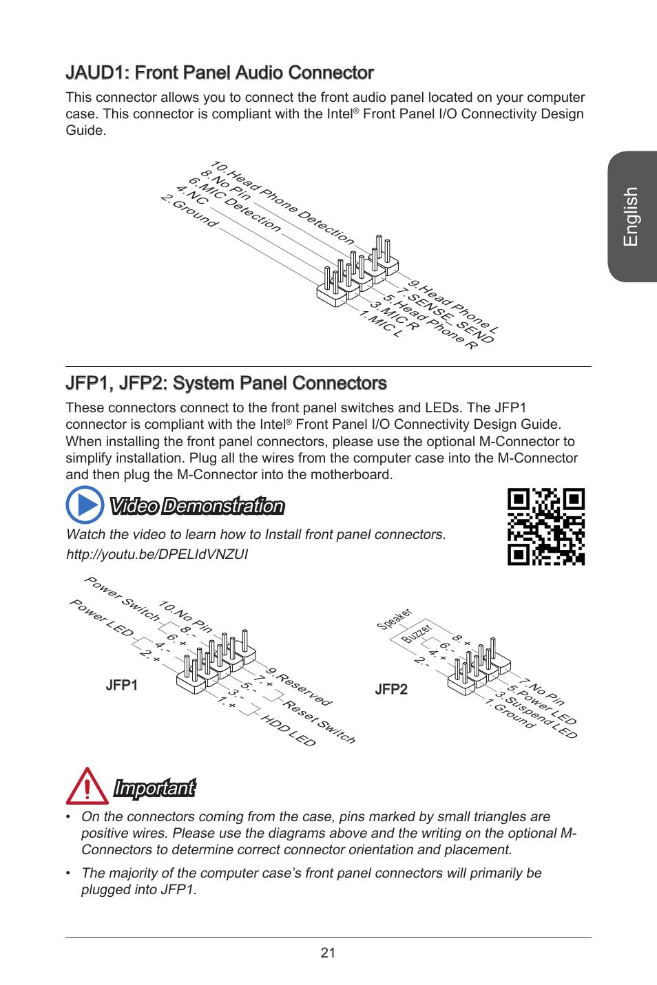 Front Panel Audio Wiring Diagram Schematics Diagrams 97 Gmc Van Stereo English Jaud Connector Jfp Jfp2 System Rh Manualsdir Com Gm Radio
