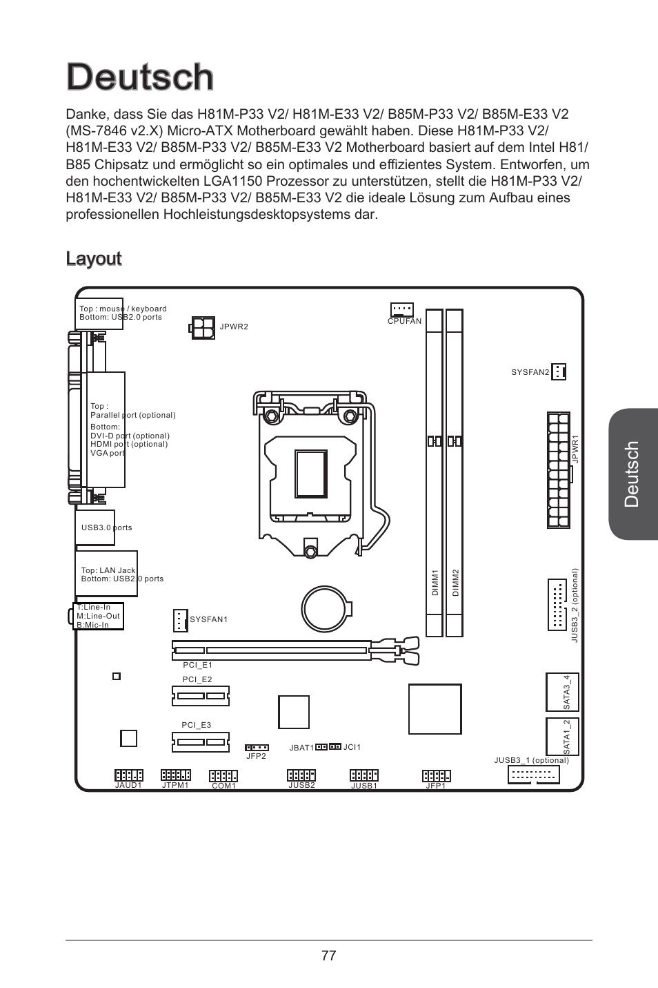 msi h81m e33 v2 page77 deutsch, layout msi h81m e33 v2 user manual page 77 182  at alyssarenee.co