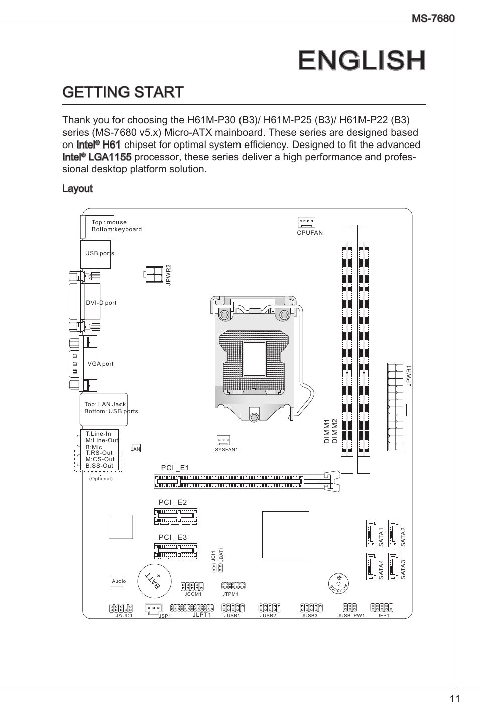 wiring diagram for 1996 club car 48 volt p25 wiring diagram english, getting start, ms-7680 | msi h61m-p25 (b3) user ...