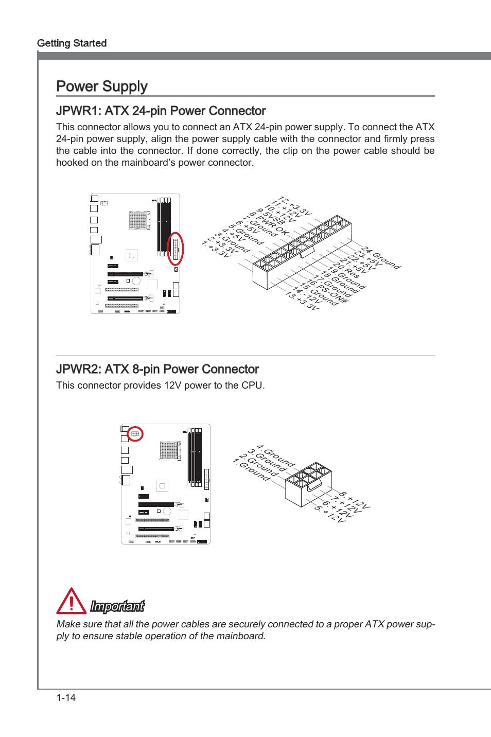 Fantastic Atx Pinout Embellishment - Electric Circuit Diagrams ...