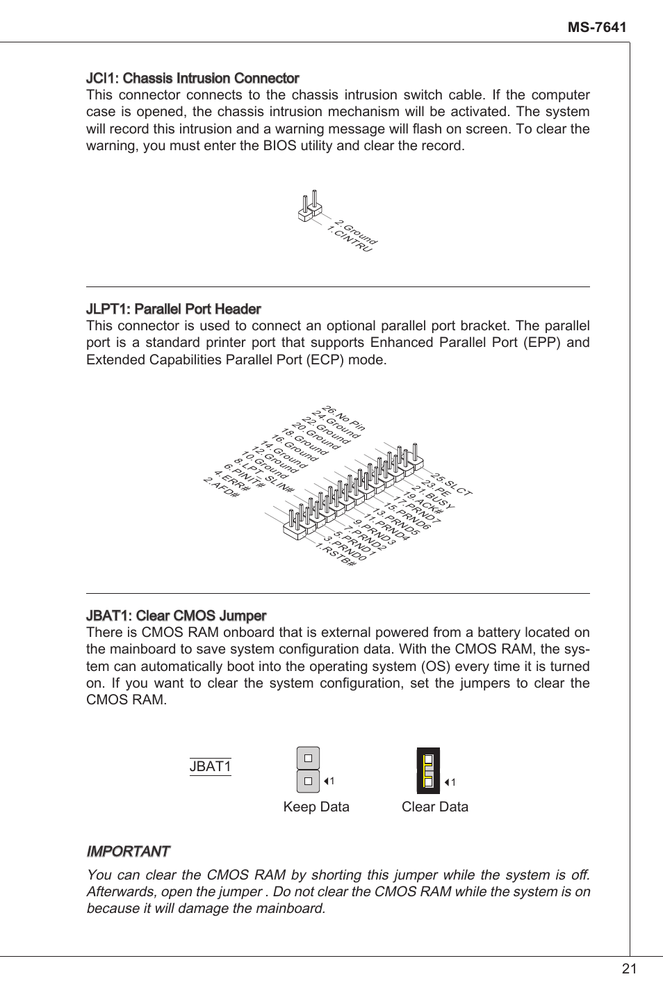 MSI 760GM-P34 (FX) User Manual | Page 21 / 171