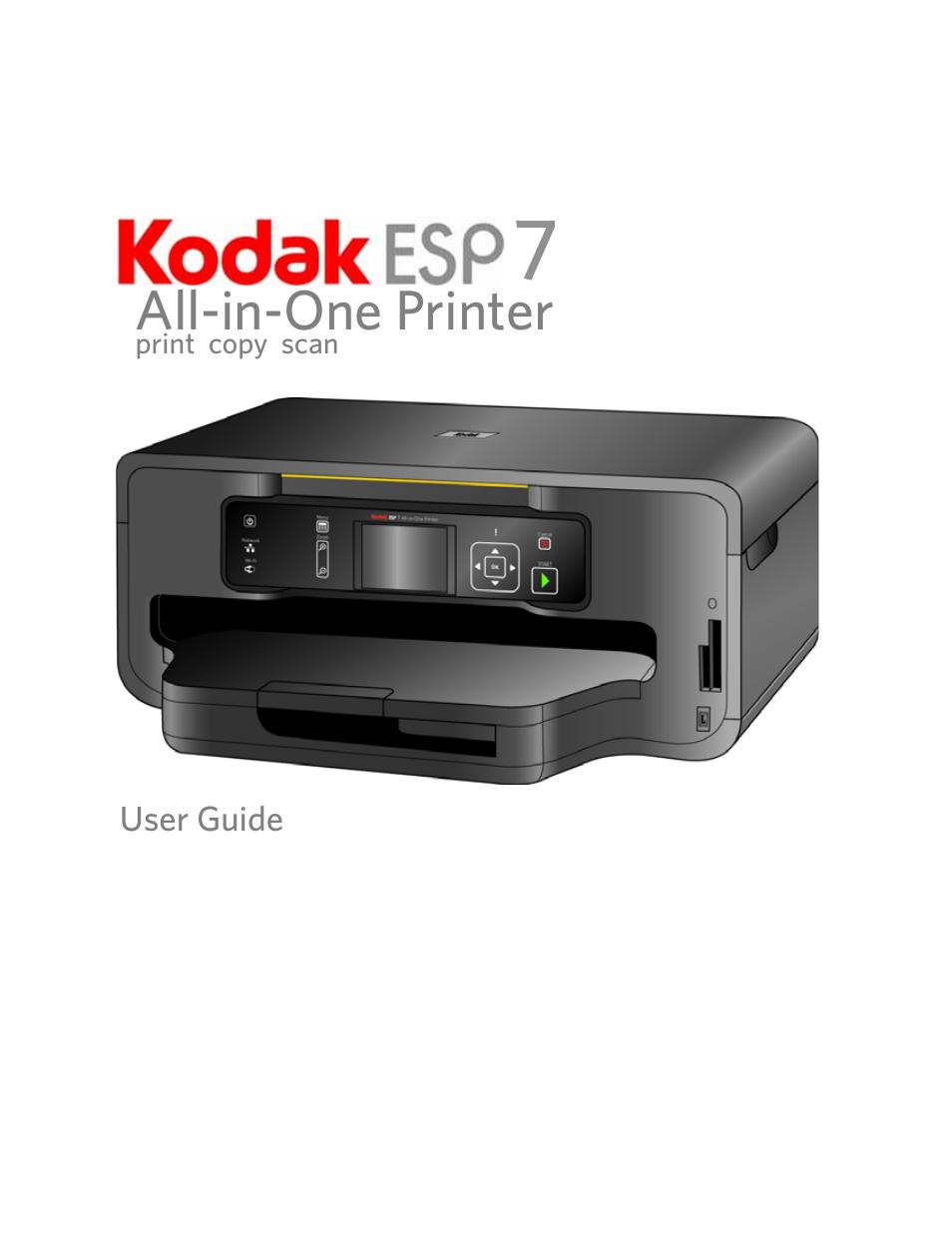 Kodak ESP 7 User Manual | 120 pages